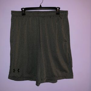 Under armour shorts grey